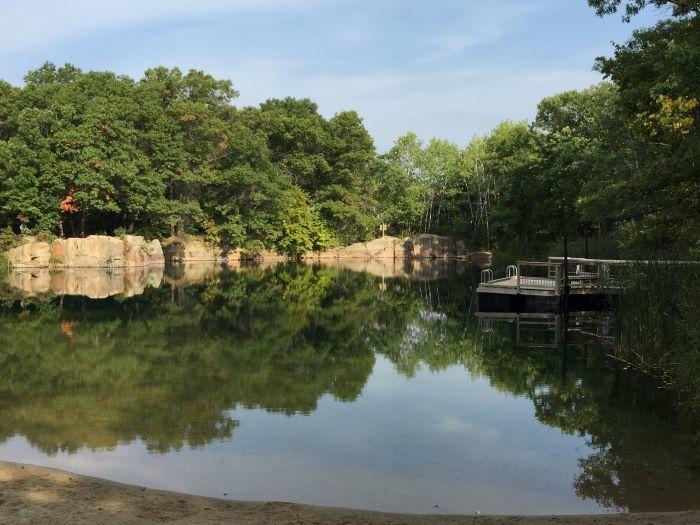 swimming quarry