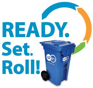 recycling cart logo