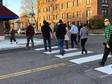 Grand Ave. crosswalk