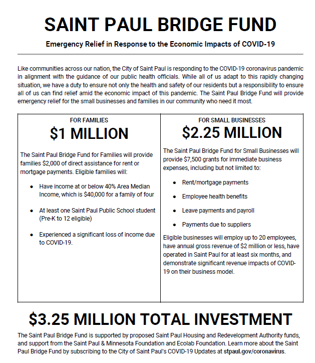 Saint Paul Bridge Fund