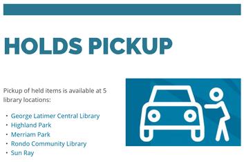 Library Pick ups