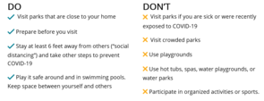 DNR Outdoor Guidelines
