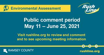 Rush Line public comment period