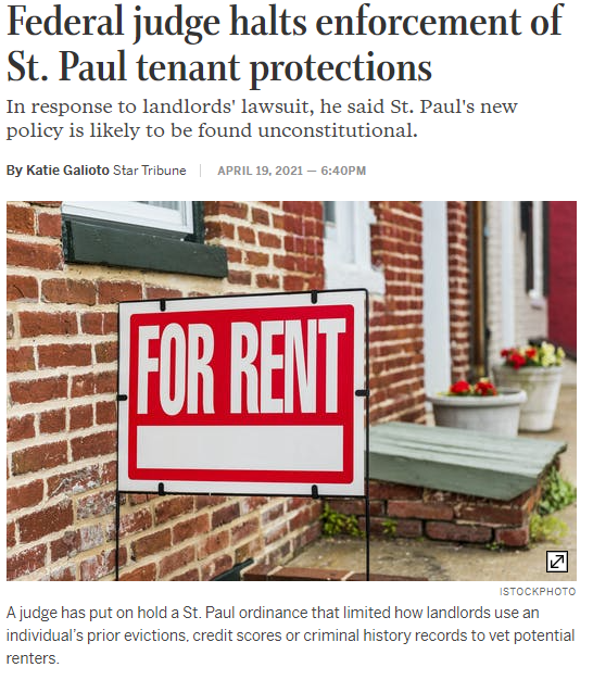 Tenant Protections