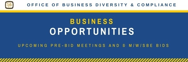 Office of Business Diversity & Compliance Newsletter
