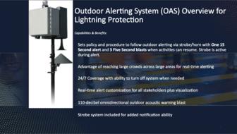 Outdoor Alert System