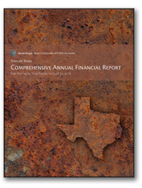 Cover of the Comprehensive Annual Financial Report