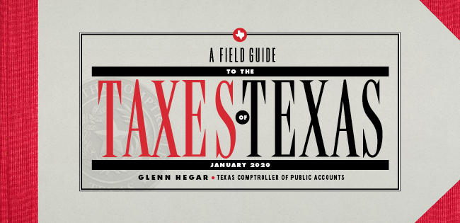 Cover of Field Guide to Taxes in Texas