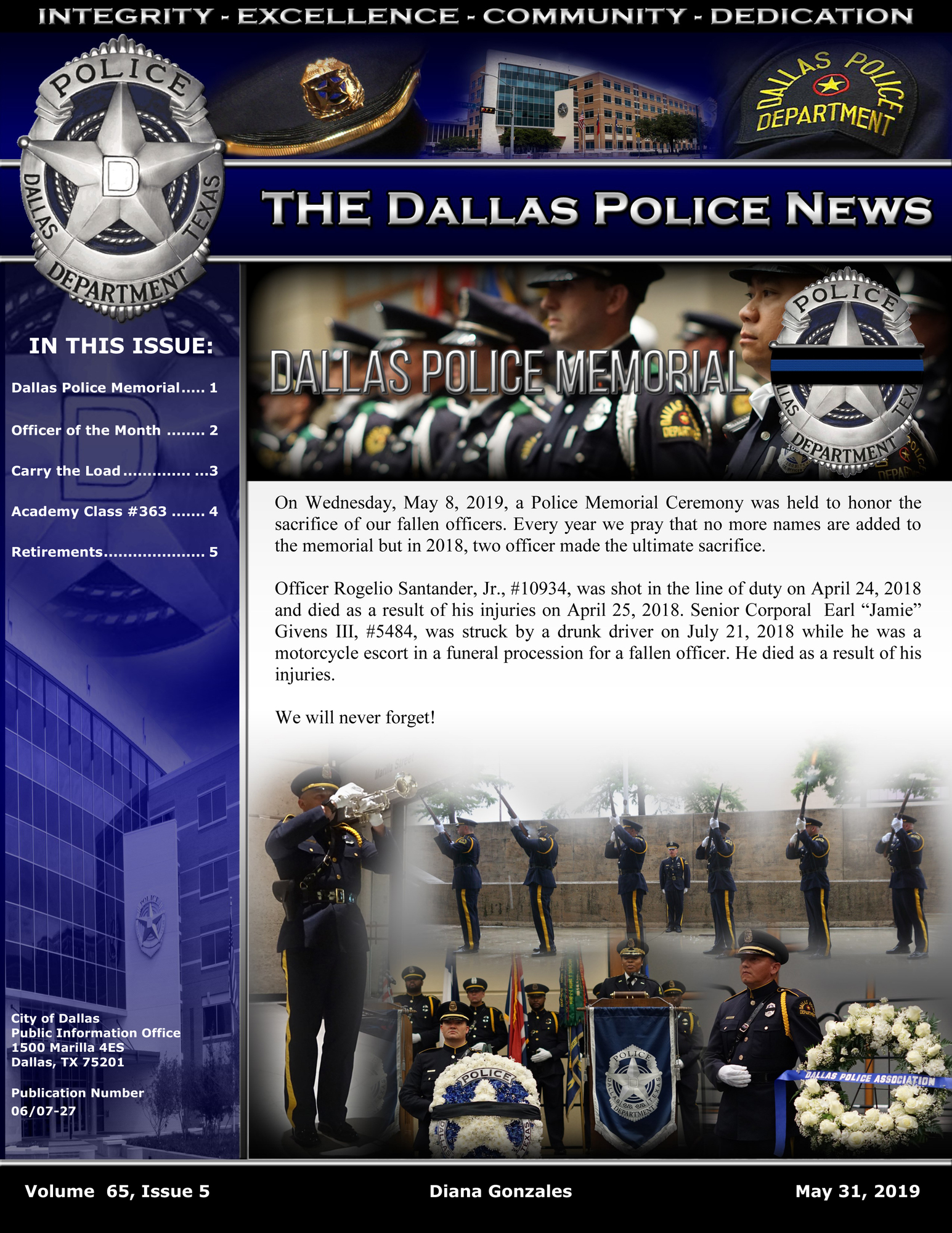 The Police News, Volume 65, Issue 5