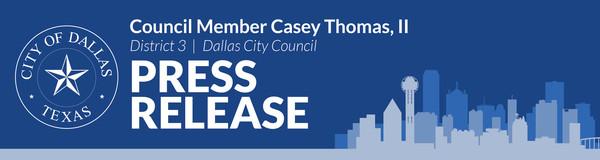 District 3 Press Release
