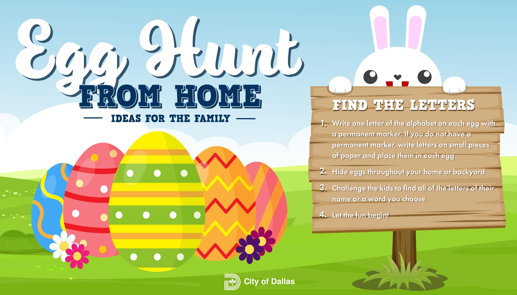 Egg Hunt Find the Letters