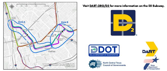 D2 Subway Map