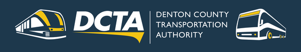 DCTA Rail and Bus Routes
