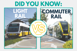 Commuter Rail Vs Light