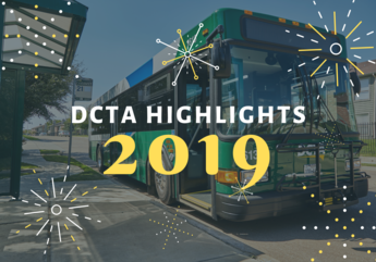 DCTA bus with graphic fireworks