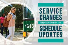 DCTA Service Changes