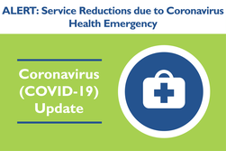 DCTA COVID-19 Service Reductions Graphic
