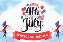 No DCTA service on July 4