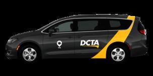 Image of DCTA on-demand van
