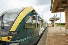 A-train at Hebron Station