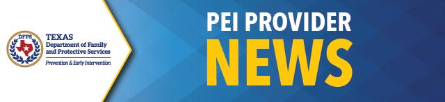 PEI Provider News