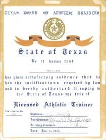 ATH license 100