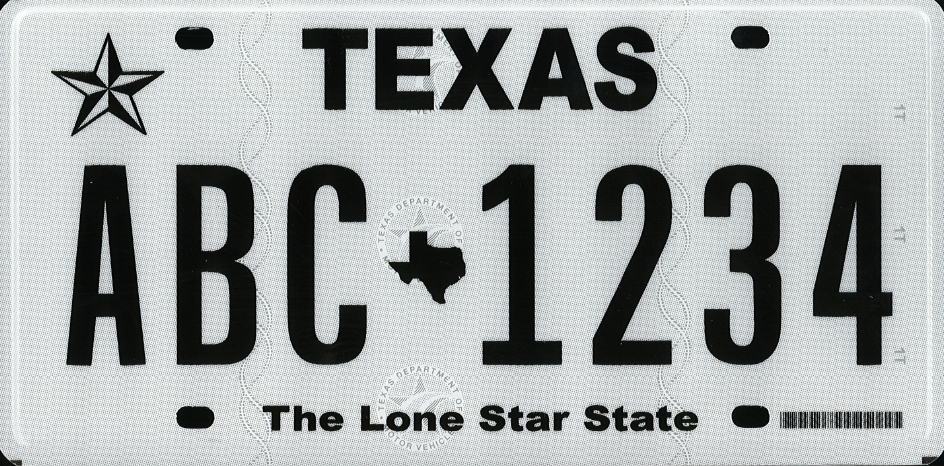 New Plate Design Image