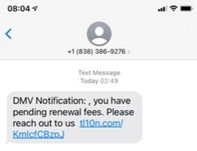 Phishing Text