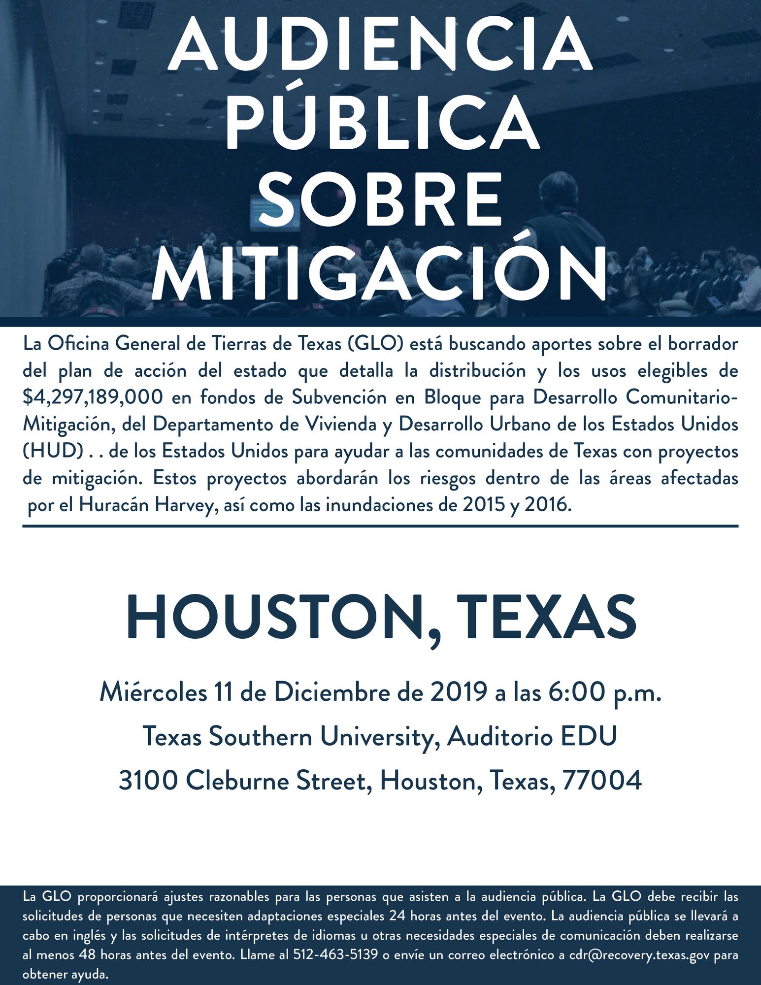 Houston Public Hearing