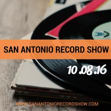 san antonio record show poster