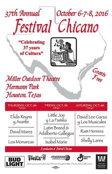 festival chicano poster