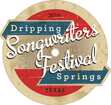 dripping springs songwriters fest poster