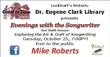 evenings with the songwriter poster