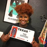 the suffers kam franklin with plate