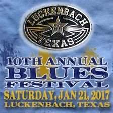 10th annual Luckenbach Blues Festival