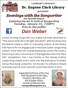 image of Evenings with the Songwriter poster