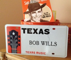 bob wills license plate photo