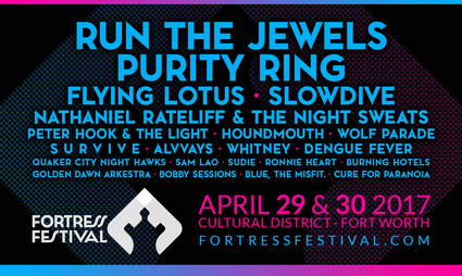fortress fest lineup poster
