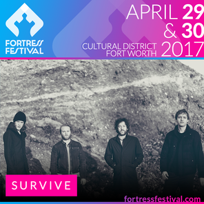 survive band's fortress fest poster