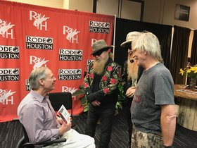 governor abbott with zz top