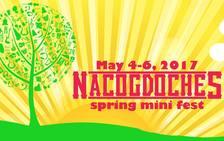 Nacogdoches Music Fest poster
