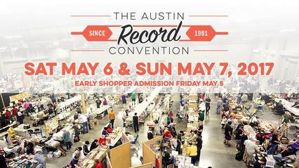 austin record convention digital poster