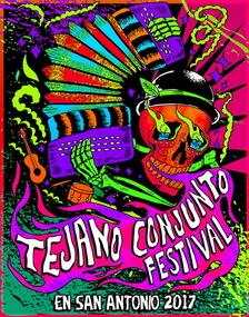 tejano conjunto fest poster