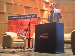 brendon_speaking at music biz day