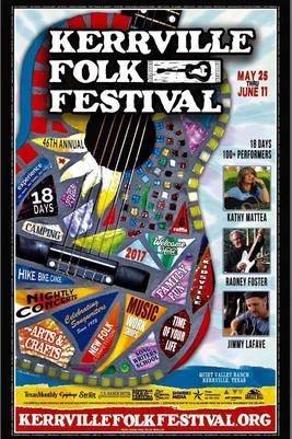 kerrville folk festival poster