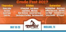 crude fest poster