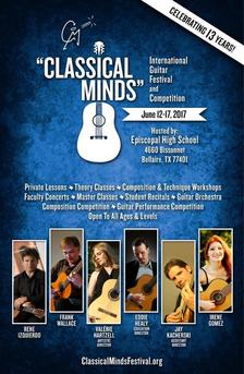 Classical Minds Fest poster