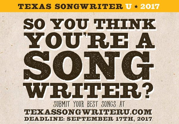 Songwriter U poster