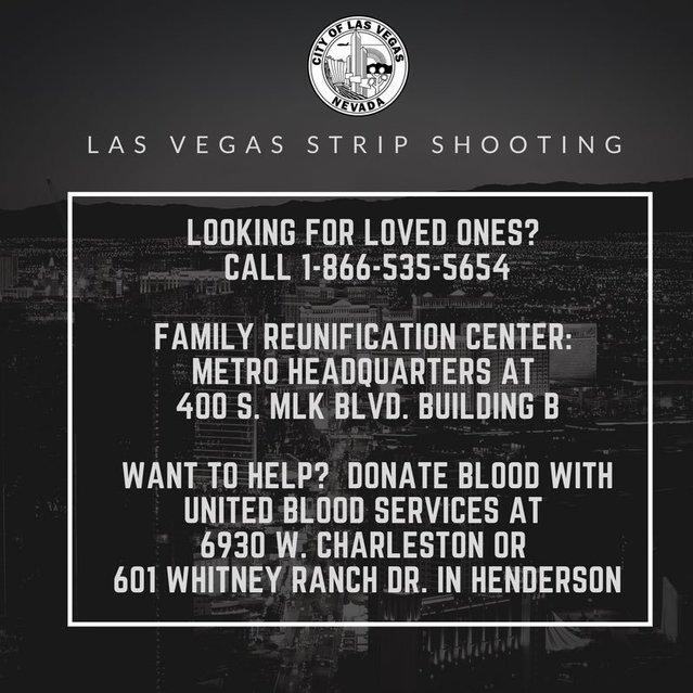 Vegas Info Concerning Missing Loved Ones