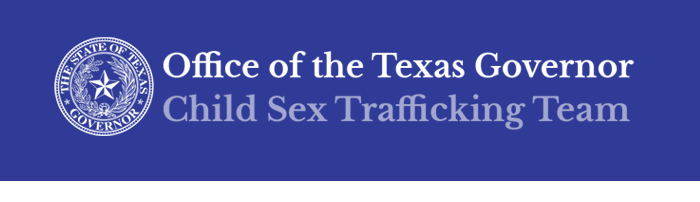 Office of the Texas Governor, Child Sex Trafficking Team